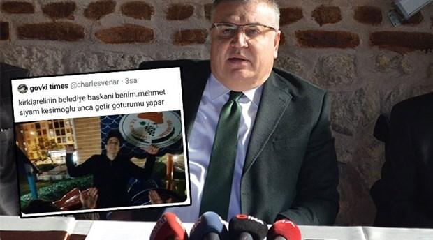 Kırklareli Belediye Başkanı Kesimoğlu: Peki bundan şeyin haberi var mı, mesela benim?