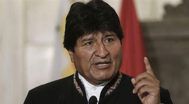 Morales: Şiddet eylemlerini sürdüren sağcılara darbeciler tarafından ödeme yapıldı