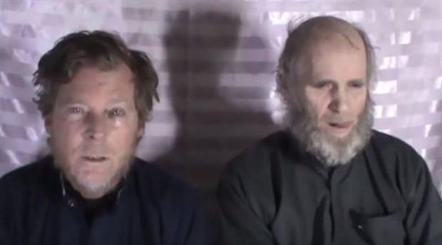 Taliban'ın üç yıl önce kaçırdığı ABD'li ve Avustralyalı rehineler serbest bırakıldı
