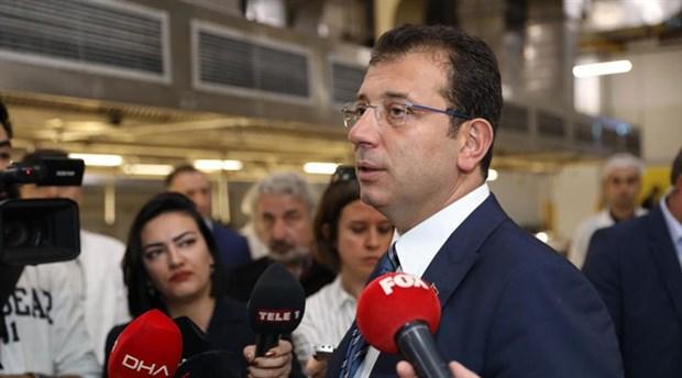 İmamoğlu'ndan 'Saray'a giden CHP'li' iddiasına ilişkin açıklama
