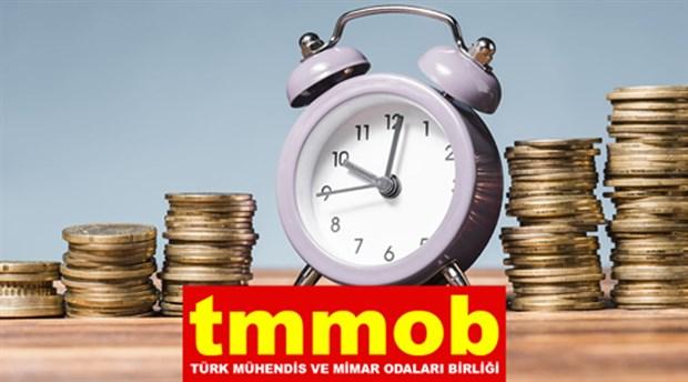 TMMOB, mühendis, mimar ve şehir plancıları için asgari ücreti belirledi: 5 bin TL