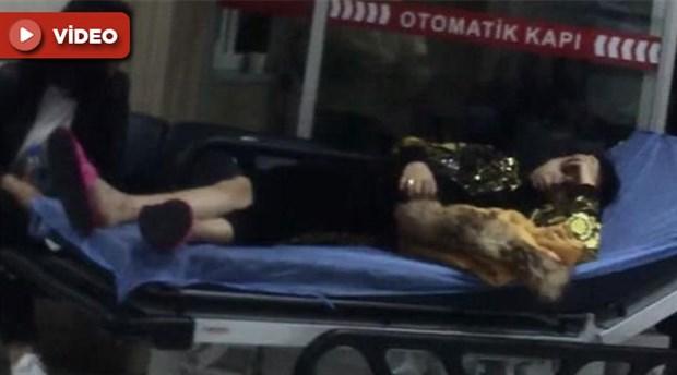 İstanbul'da taksici, kadın turisti dövüp aracından attı!