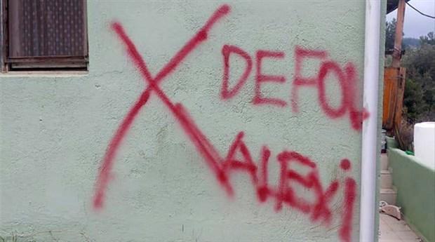 İzmir'de Alevi ailenin evi işaretlendi