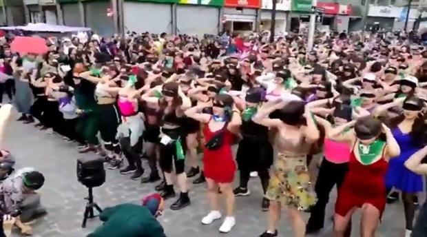 Şilili kadınların başlattığı protestolar tüm dünyaya yayılıyor: #LasTesis