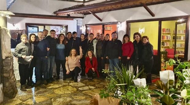 Muğla'da Yarım Han Kitap Kafe açıldı
