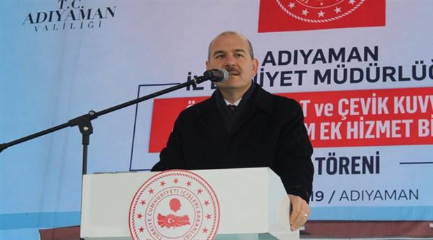 Soylu: Doğu ve Güneydoğu'ya getirdiğimiz barış ve huzuru Ortadoğu'ya da getireceğiz