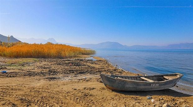 Beyşehir Gölü de kurudu