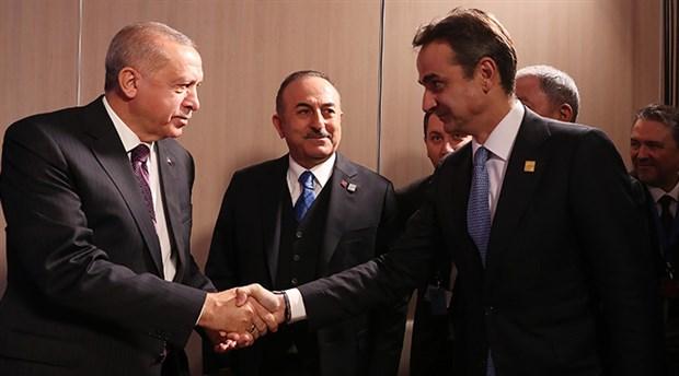 Erdoğan, Yunanistan Başbakanı ile bir araya geldi