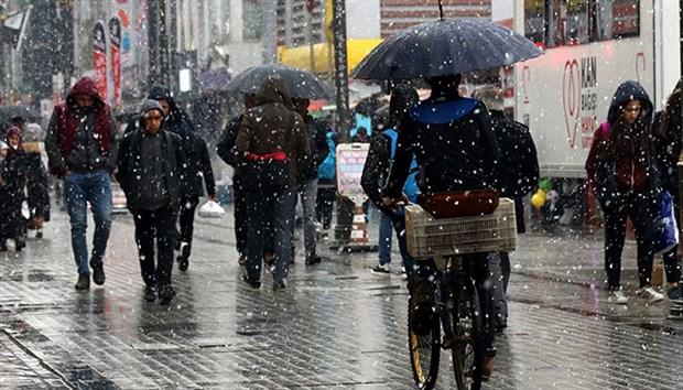 Meteoroloji'den yağmur ve kar uyarısı