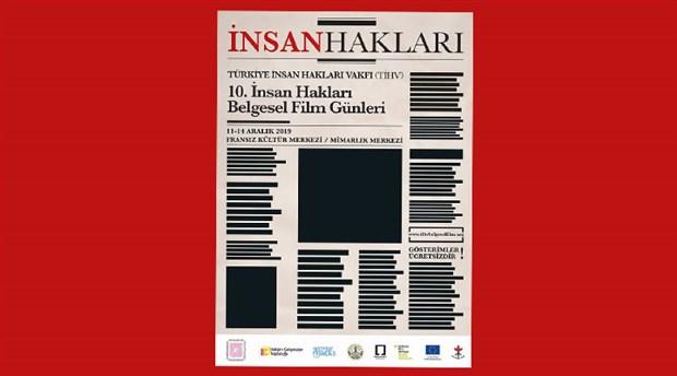 10. İnsan Hakları Belgesel Film Günleri 11-14 Aralık'ta
