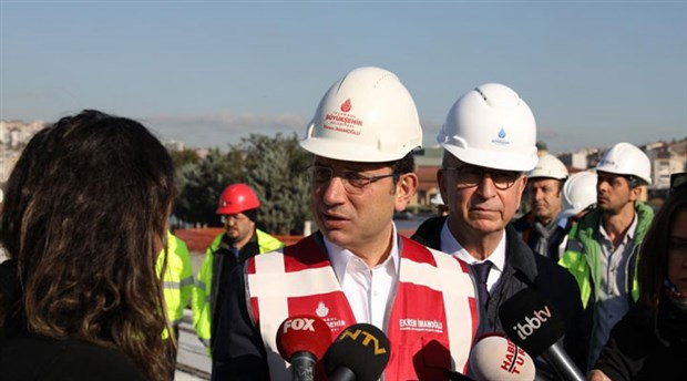 İmamoğlu'ndan AKP'li Göksu'nun 'trafik' açıklamasına yanıt: 'Herhalde espri yapmak istedi'