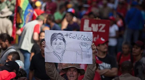 Morales'i hedef alan rapor şaibeli
