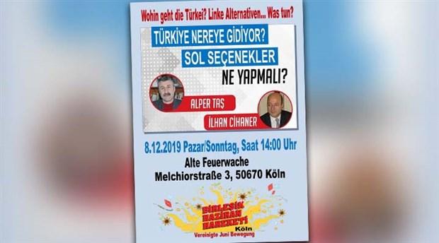 Köln'de 'sol seçenek' konuşulacak