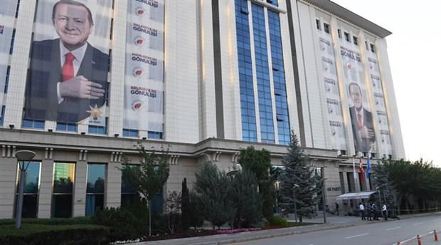 'AKP Genel Merkezi'ni Cumhurbaşkanlığı korumaları koruyor'