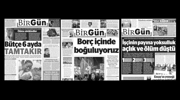 """""""İşsizlerin, yoksulların, sesi BirGün gazetesi cezalandırılmaya çalışılıyor"""""""