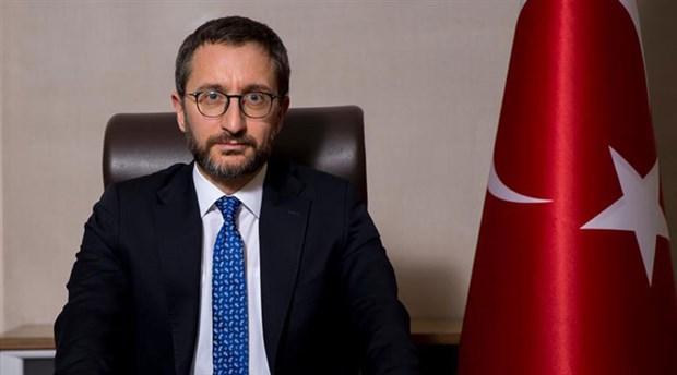 """Altun: """"Cumhurbaşkanımızın ifadeleri Orhan Pamuk'a yönelik değil"""""""