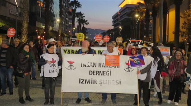 İHD İzmir: Yaşanan hak ihlallerine karşı sessiz kalmayacağız