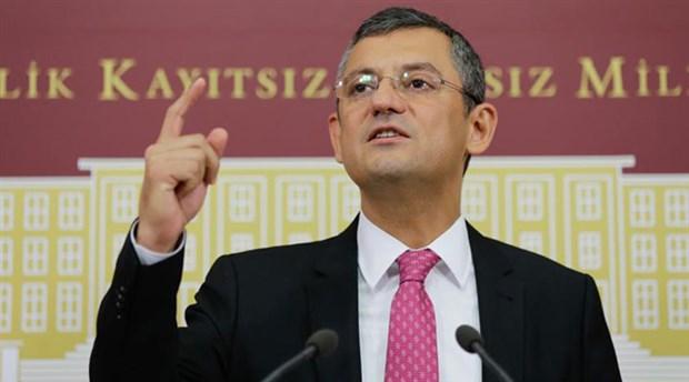 CHP'li Özel:Erdoğan, aracılar yollayarak eski siyaset arkadaşlarına parti kurmayın diyor