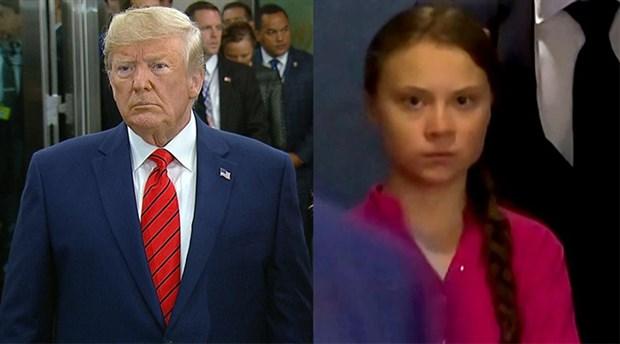 Trump ve Greta Thunberg arasında Twitter atışması
