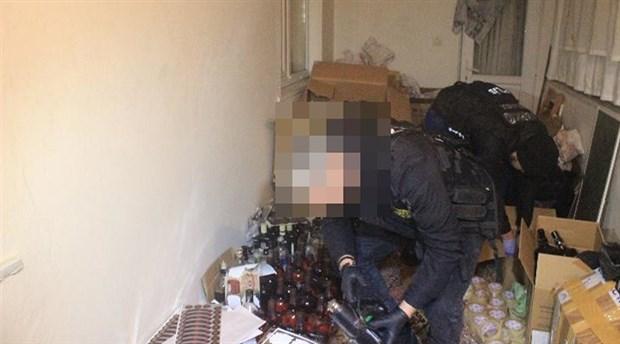 Yılbaşı öncesi kaçak içki operasyonu: 107 gözaltı