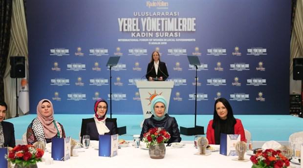 Devletin sanatçıları AKP Genel Merkezi'nde konser verdi