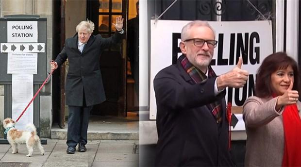 İngiltere'de oy verme işlemi sona erdi