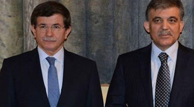 Abdullah Gül'den Davutoğlu'na tebrik telefonu