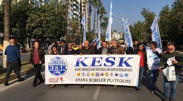 Mersin'den binlerce emekçi bir araya geldi: 'Halk için bütçe, demokratik Türkiye'