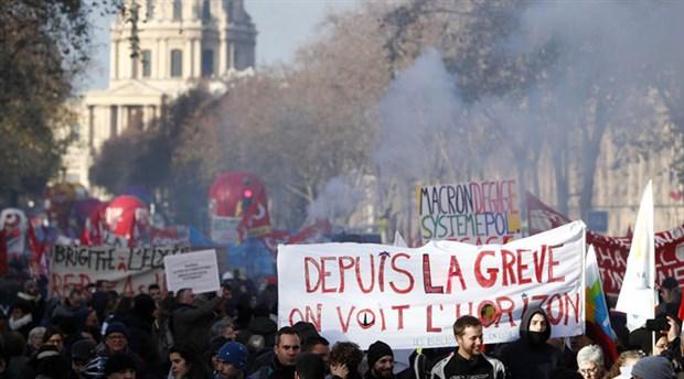 Fransa'da grev ve protestolar 19. gününde
