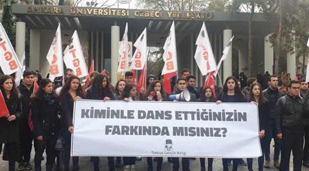Kadınlardan TGB'lilere mor boya: Sekiz kadın gözaltına alındı