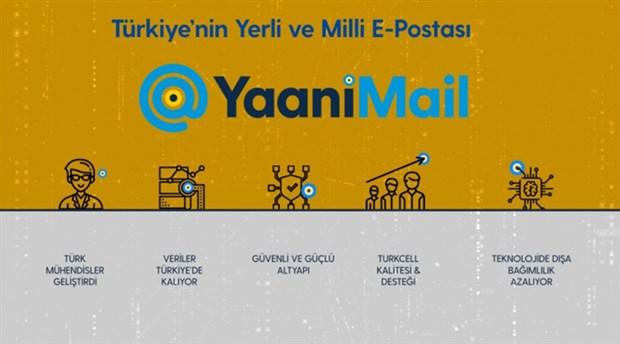 Turkcell'in geliştirdiği yerli e-posta servisi YaaniMail tanıtıldı