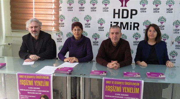 HDP 3. Olağan İzmir İl Kongresi pazar günü gerçekleşecek