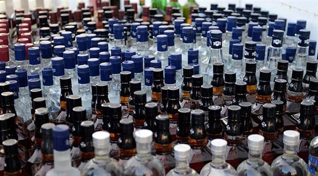 Yılbaşı öncesi 81 ilde sahte içki operasyonu