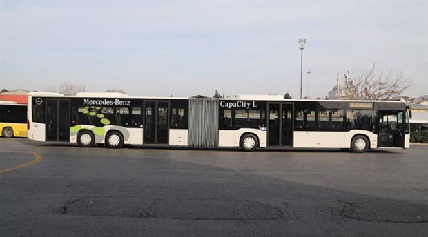 İstanbul'da metrobüs hattında çalışacak yeni aracın testine başlandı