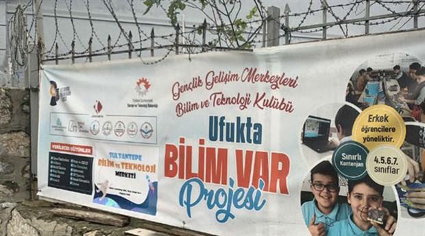 Devlet destekli projede kız öğrenci yasağı