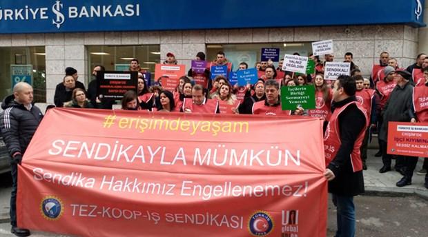 Tez-Koop-İş: Sendikal haklarımız engellenemez