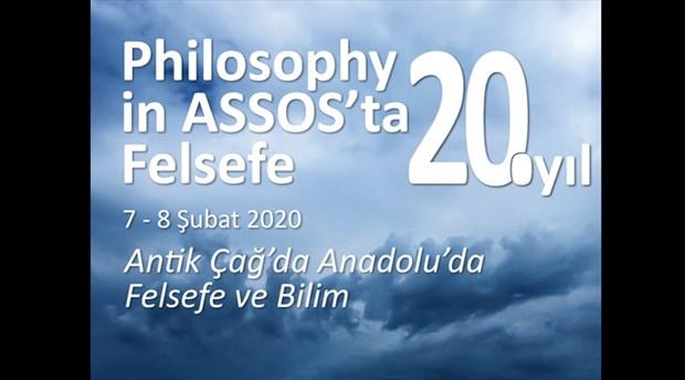 """""""Assos'ta Felsefe""""de bu yıl: Antik Çağ'da Anadolu'da Felsefe ve Bilim"""