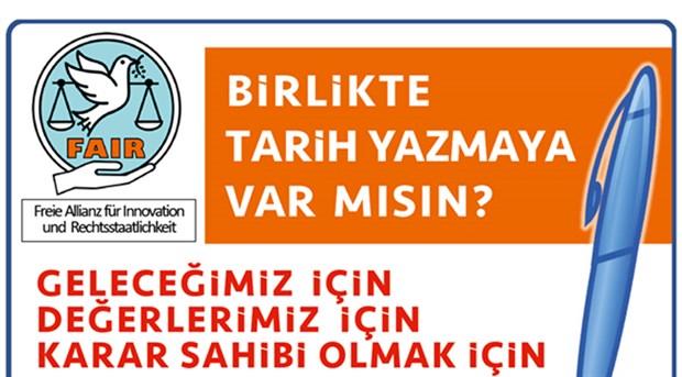 Münih yerel seçimleri için AKP'liler de harekete geçti