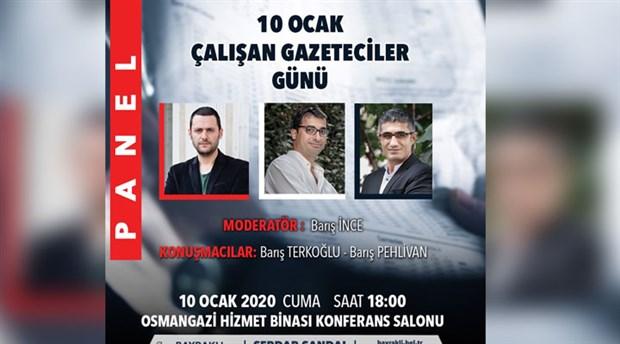Bayraklı'da 'Çalışan Gazeteciler Günü' etkinliği