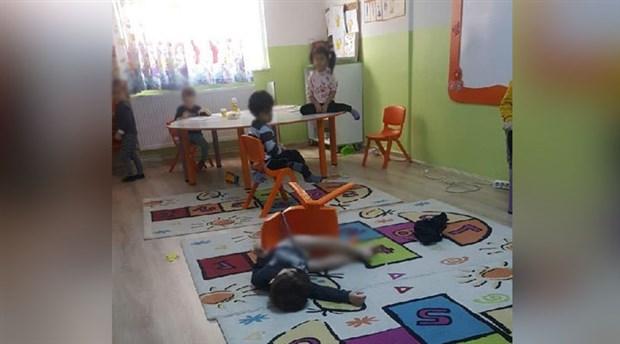 3,5 yaşındaki çocukları anaokulunda sandalyeye bağladılar