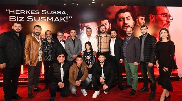 'Sıfır Bir' filminin ilk galası İstanbul'da yapıldı