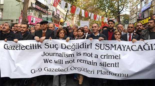 10 Ocak Çalışan Gazeteciler Günü'nde gazeteciler anlattı: Gerçekleri gizleyen bir sistem oluşturuldu