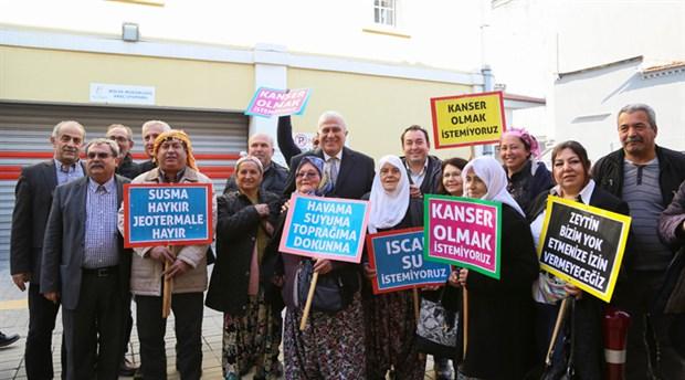İzmir'de jeotermal konuşuldu: 'Doğaya sahip çıkmak için direnmek zorundayız'