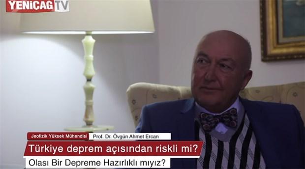 Prof. Dr. Ahmet Ercan: Depremden ölene şehit denmez
