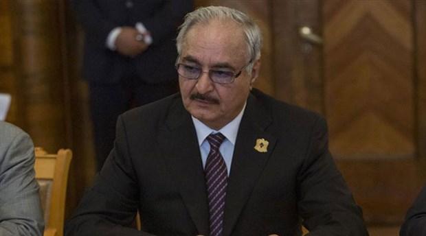 General Hafter ateşkes metnini imzalamadan Rusya'dan ayrıldı
