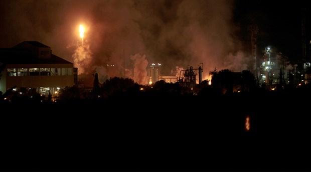 İspanya'da patlama: Kimyasal alarm verildi
