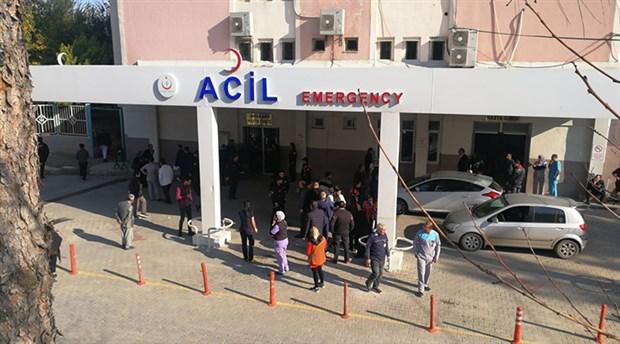Mersin'de devlet hastanesinde patlama