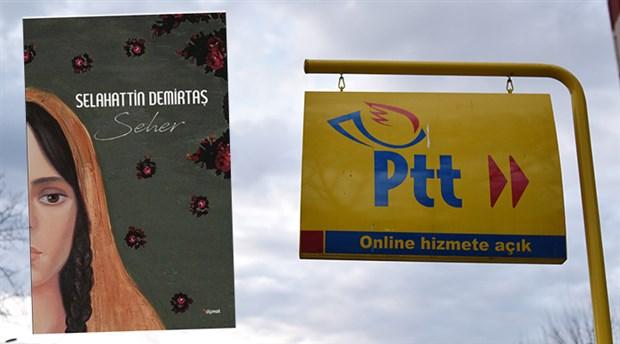 PTT, Demirtaş'ın kitaplarının satışını kaldırdı