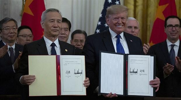 Beklenen ticaret anlaşması imzalandı