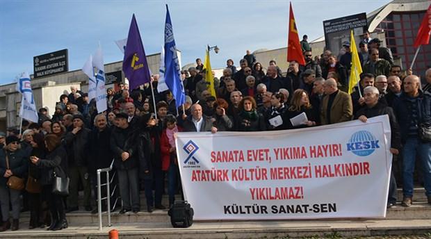 Samsun'da AKM'nin yıkılıp yerine kongre merkezi yapılmak istenmesine tepki